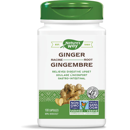 Ginger Root / 100 capsules