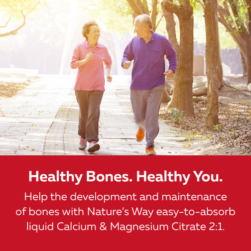 Calcium & Magnesium Citrate 2:1 with Vitamin K2 & Collagen, Strawberry / 16.9 fl oz (500 ml)