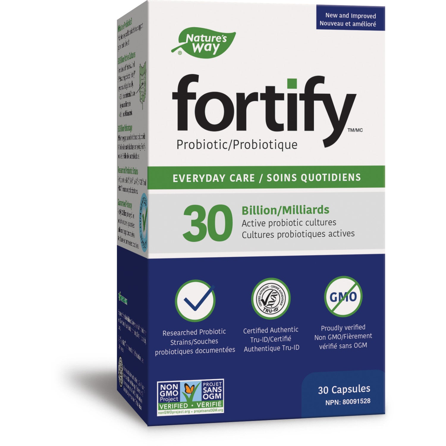 Fortify™ Everyday Care Probiotic / 30 capsules