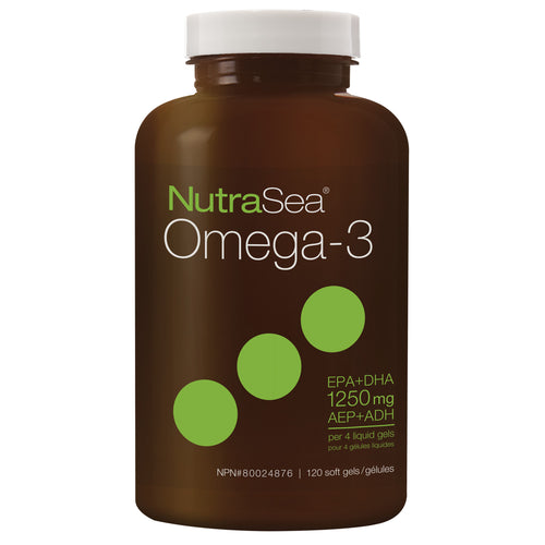 NutraSea® Omega-3, 120 soft gels / 120 softgels