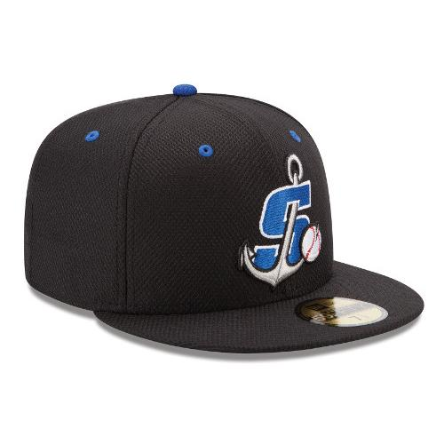 Stockton Ports On-Field Fitted Batting Practice Hat
