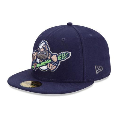 Stockton Ports On-Field Fitted 5 O'Clock Dock Hat
