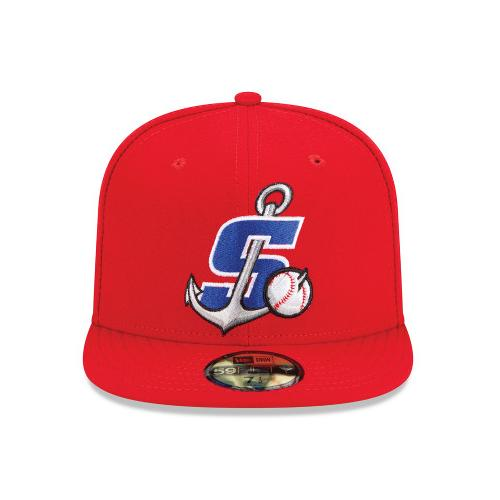 Stockton Ports On-Field Fitted Home Hat