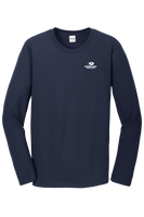 Mossy Oak Properties Gildan Softstyle LS - Navy
