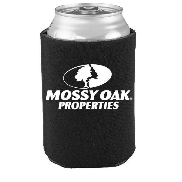 Mossy Oak Properties Black Koozies