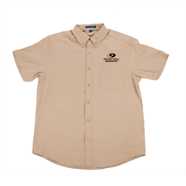 Mossy Oak Properties Short Sleeve Twill Shirt