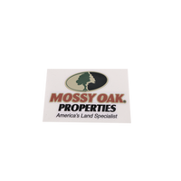 Mossy Oak Properties Large Decals