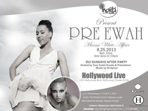 Haiti Tourism Inc Fundraiser event (Hollywood, FL)