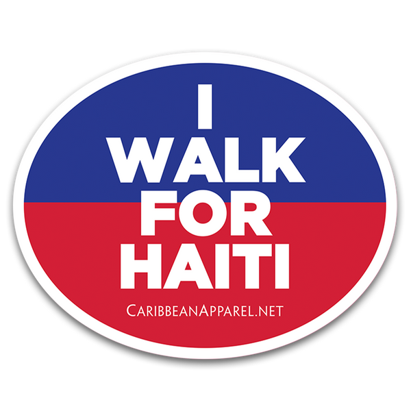 I Walk for Haiti Bumper Sticker