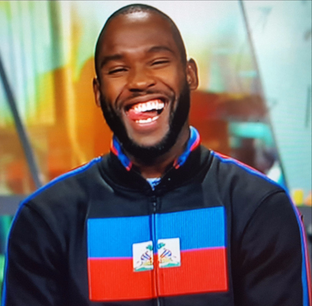 Haiti Flag Jacket