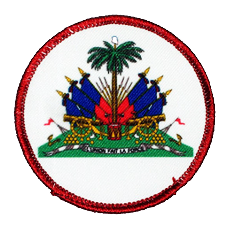 Haiti Coat of Arms Patch