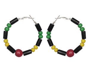 Guyana Hoop Earrings
