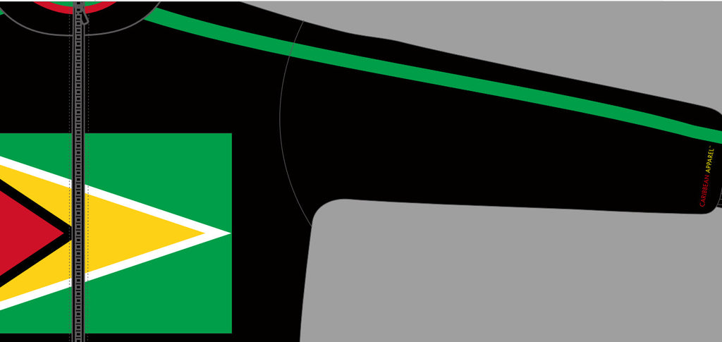Guyana Flag Jacket