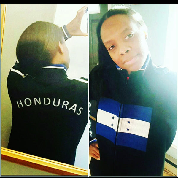 Honduras Flag Jacket