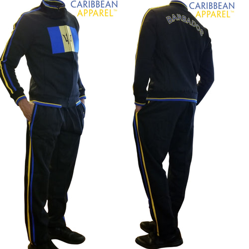 Barbados Sweatsuit (Flag Jacket and Pants)
