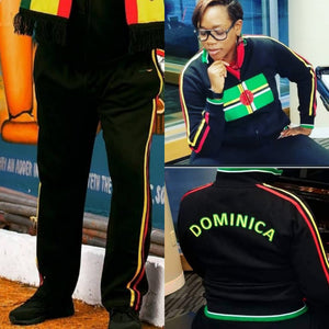 Dominica Sweatsuit (Flag Jacket and Pants)