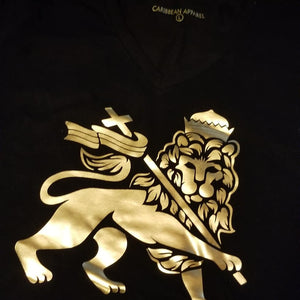 Lion of Judah foil tshirt