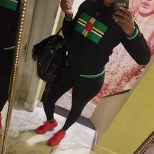 Dominica Flag Jacket