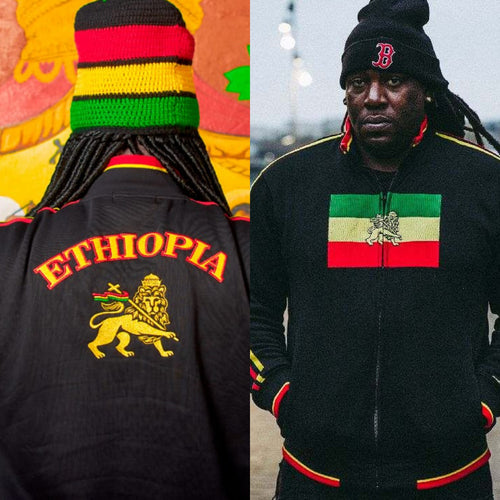 Ethiopia Lion of Judah Flag Jacket