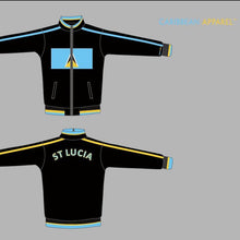 St. Lucia Flag Jacket