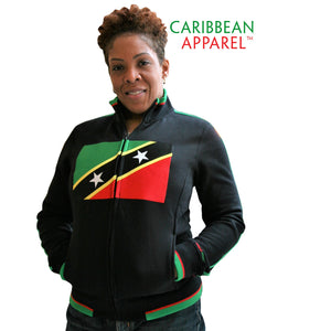 St Kitts & Nevis Flag Jacket