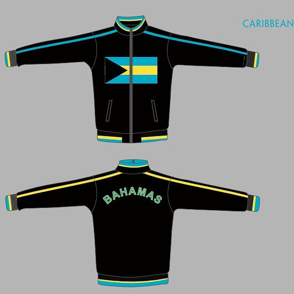 Bahamas Flag Jacket