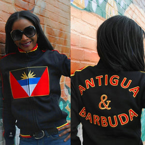 Antigua & Barbuda Flag Jacket