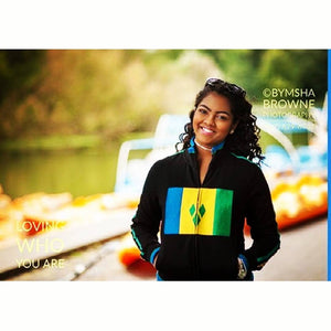 St. Vincent & the Grenadines Flag Jacket