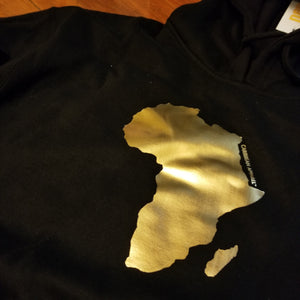 AFRICA GOLD foil Hoody