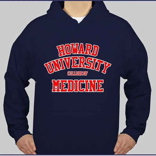 Hooded Sweatshirt - HOWARD UNIVERSITY COLLEGE OF MEDICINE