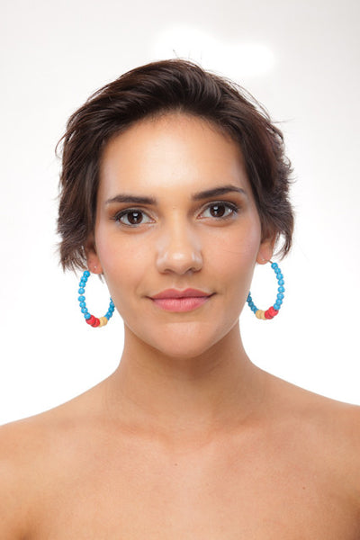 Panama Hoop Earrings