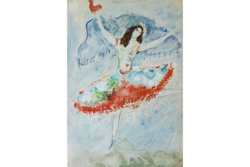 Marc Chagall Photocolor Print:
