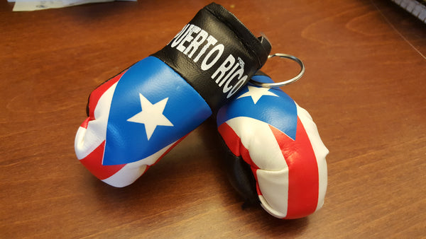 Puerto Rico Key Chain Boxing Glove