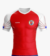 Haiti Soccer Team Red Jersey