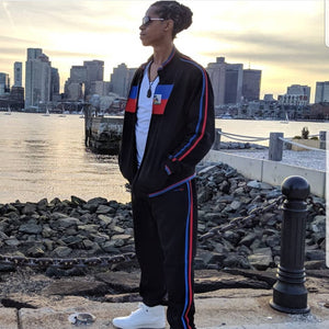 Haiti Sweatsuit (Flag Jacket and Pants)