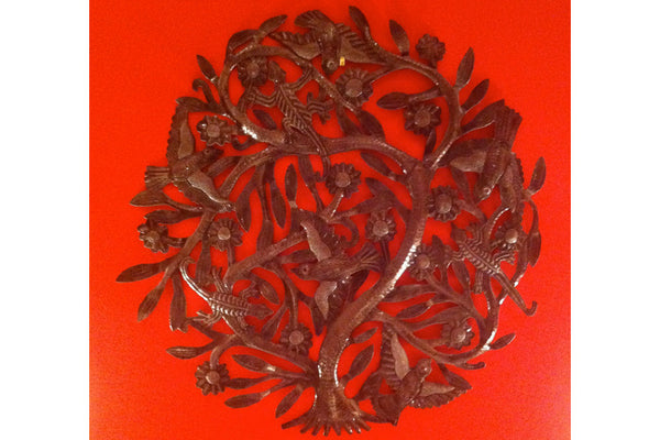 Tree of Life #2: Haitian Metalwork Art