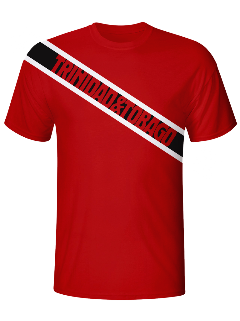 Trinidad and Tobago Flag Dri Fit Tshirt