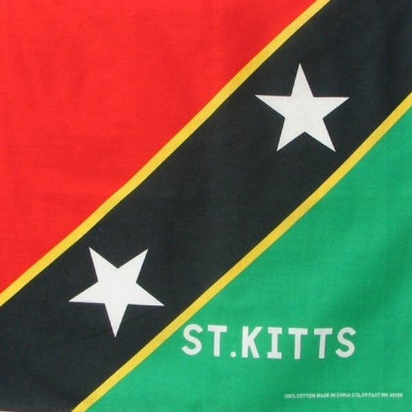 St. Kitts Bandana Flag