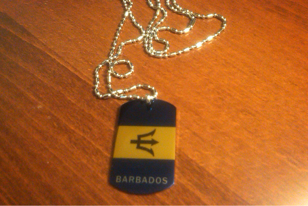 Barbados Dog Tag