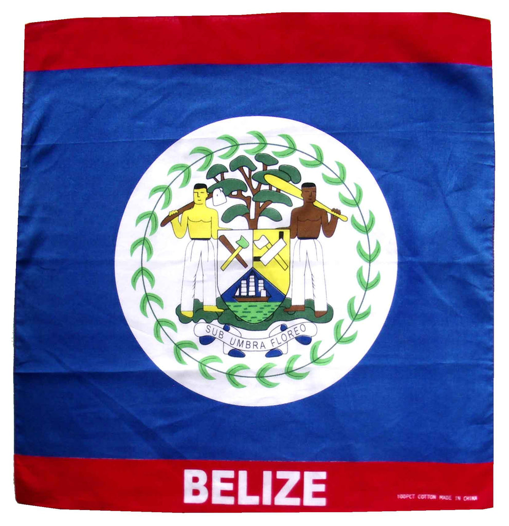 Belize Bandana Flag