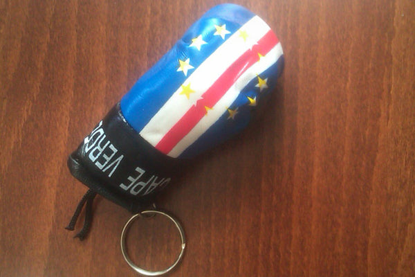 Cabo Verde Key Chain Boxing Glove