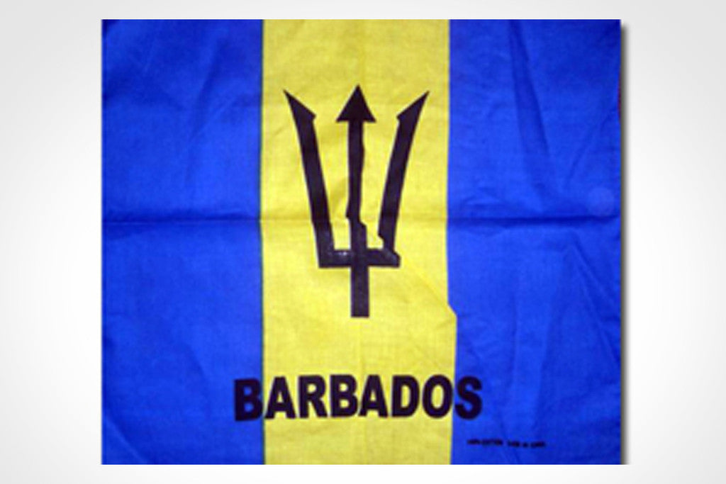 Barbados Bandana Flag