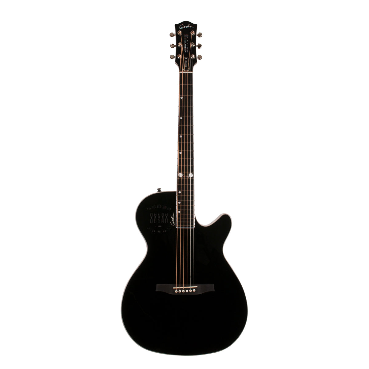 Godin Multiac Steel Doyle Dykes Signature Edition Black HG Electric Acoustic Guitar
