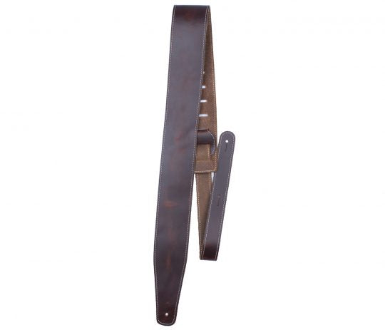 "Perri's 2.5"" Oil Leather Series Guitar Strap"