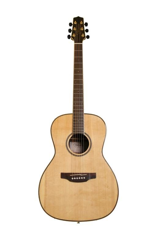 Takamine G Series New Yorker Body Solid Spruce Top Acoustic, Natural Gloss Finish