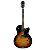 Alvarez AAT35/TSB semi hollow electric guitar