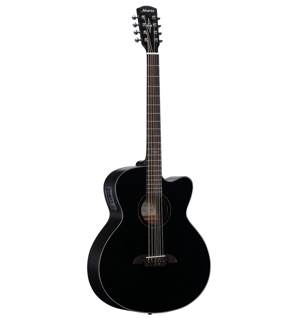 Alvarez ABT60CE-8BK Alectric Acoustic 8 String Guitar