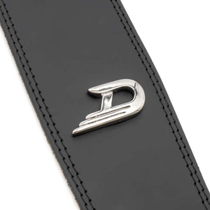 Duesenberg Leather Guitar Strap - Black