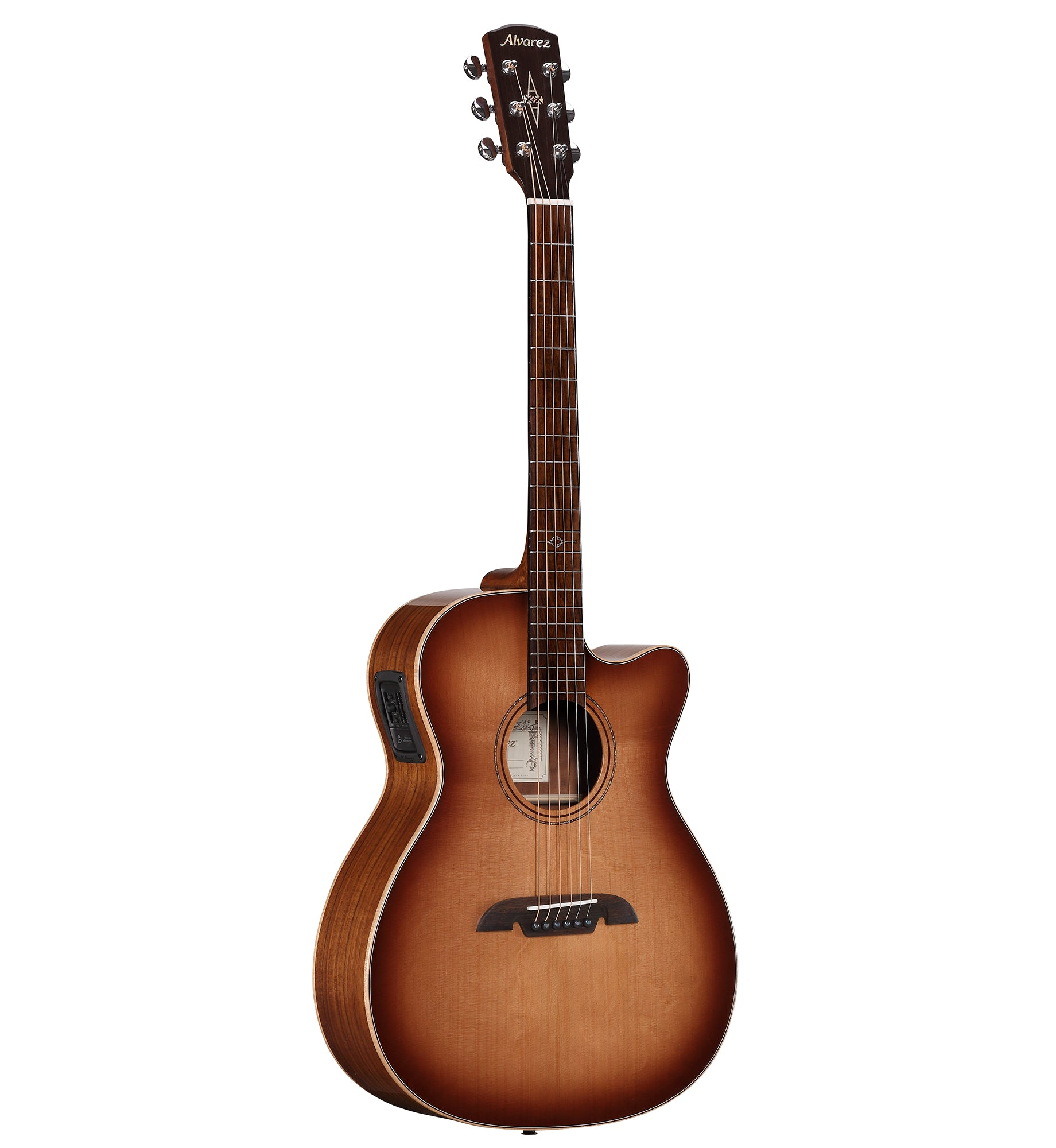 Alvarez AFA95CESHB electric acoustic guitar