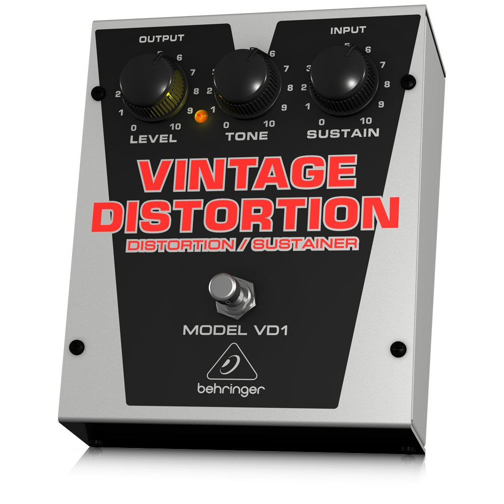Behringer VINTAGE DISTORTION VD1 Authentic Vintage-Style Distortion/Sustainer